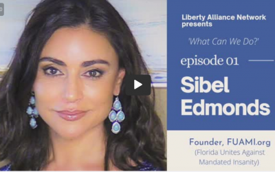 Sibel Edmonds stands for Florida, takes on Covid tyranny